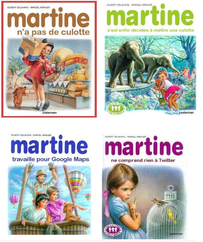 Martine a bien changée ... #2 - meme