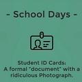 Those school days...