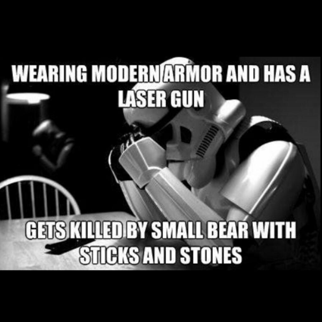 Poor Stormtroopers - meme
