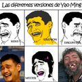 Yao también tiene sus versiones