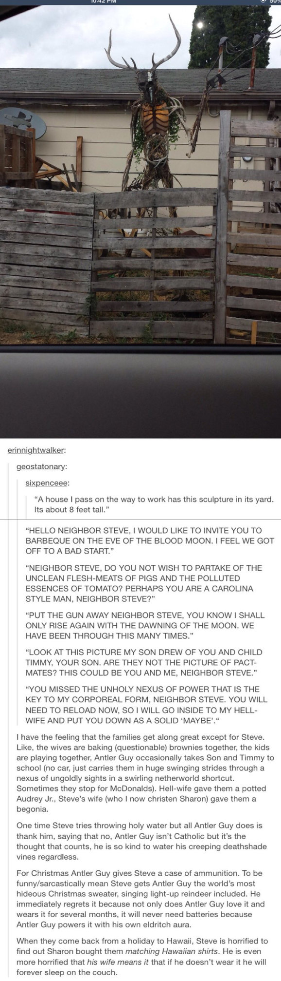 Neighbor Steve - meme