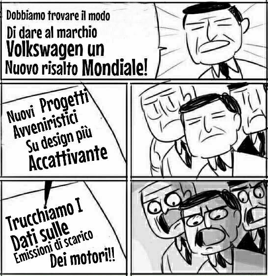 Chi di co2 colpisce, di pubblicità smog perisce! Nuova pubblicità mondiale gratuita per Volkswagen - meme