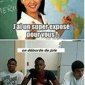 Moi en classe