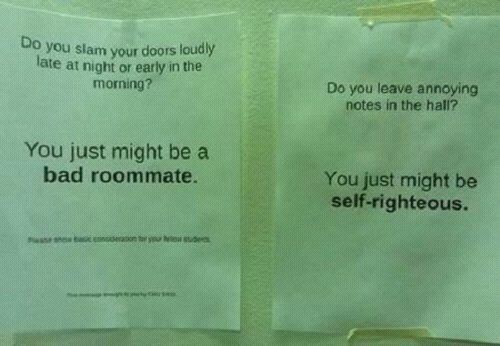 Found in my gf's dorm. - meme