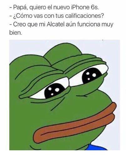 Y sigo con el Alcatel :( - meme