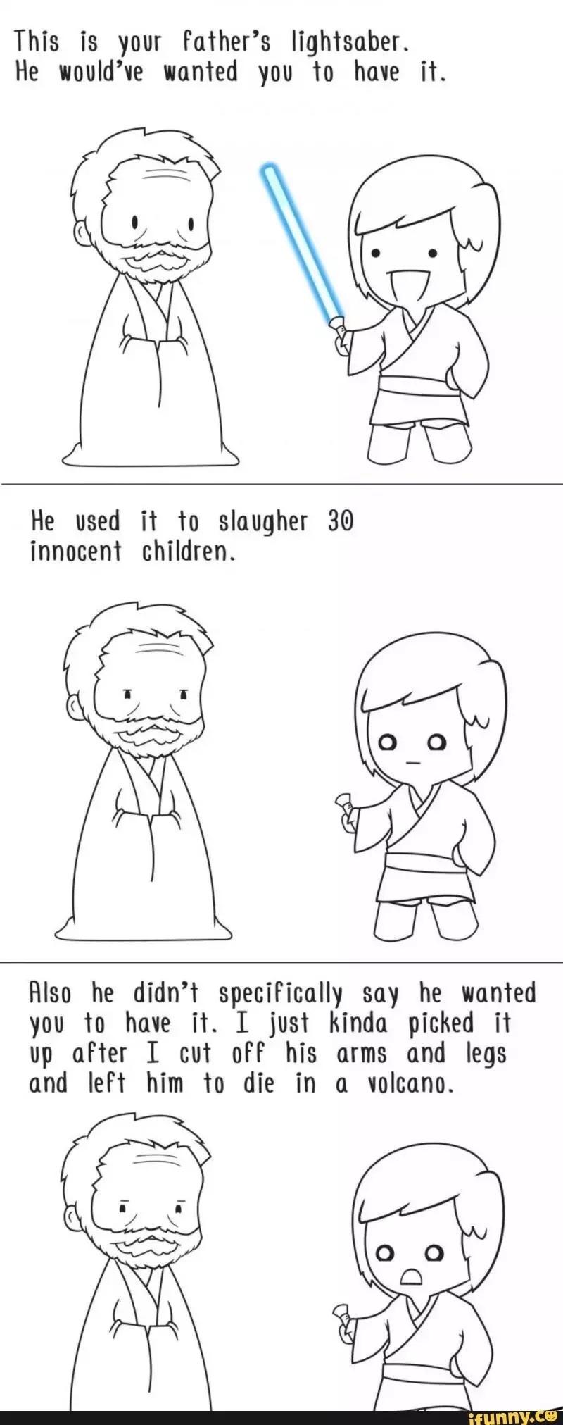 lol poor Luke... can't catch a break - meme