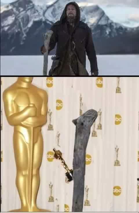 Poor Leo - meme