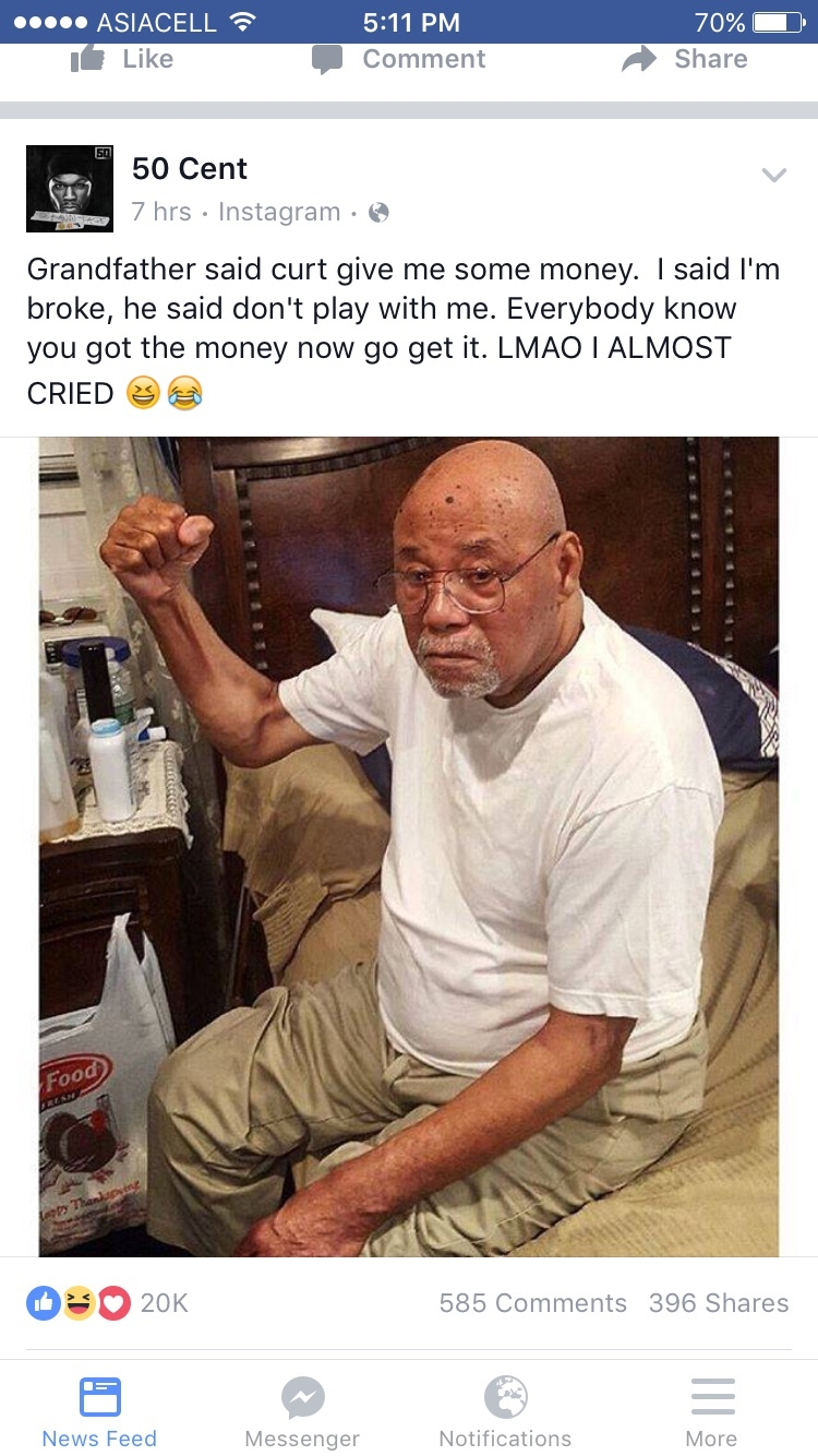 Even his grandaddy know he lying  - meme