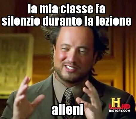 Alieni - meme