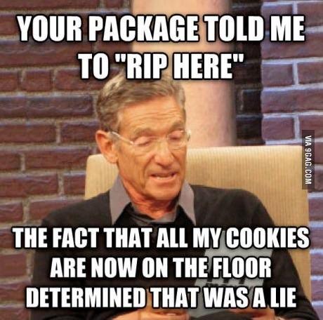 That was a lie! - meme