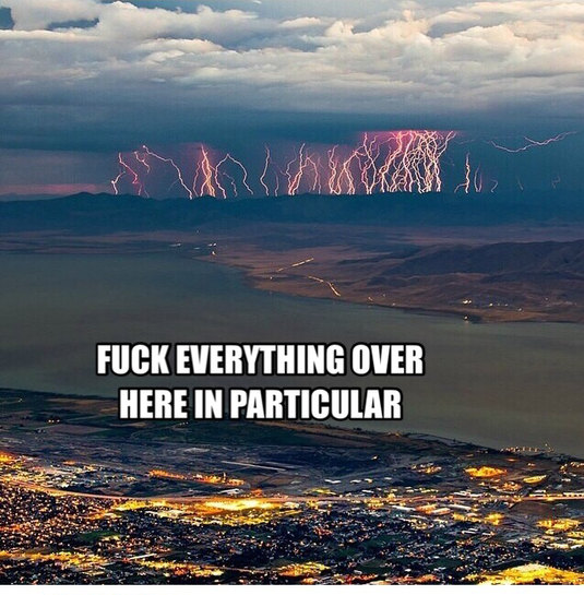 Storm approaching Utah.. - meme