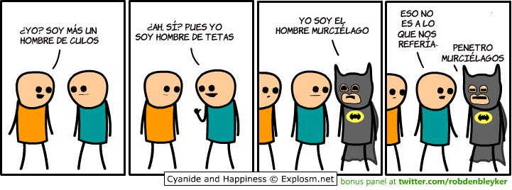 Murciélago y Batman - meme