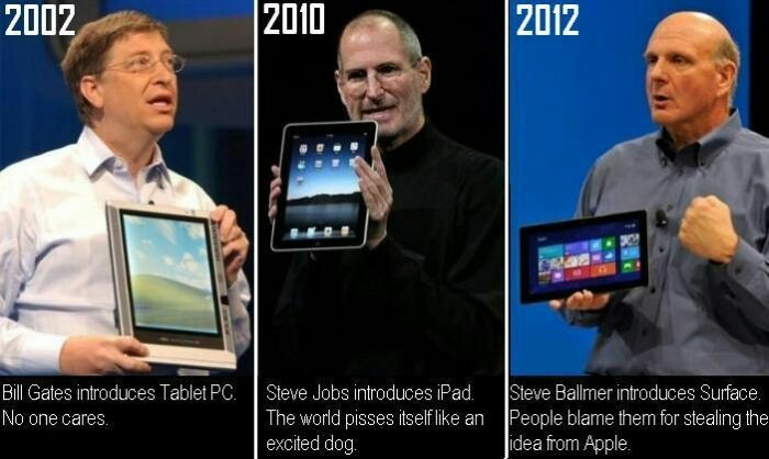 Scumbag Steve Jobs - meme