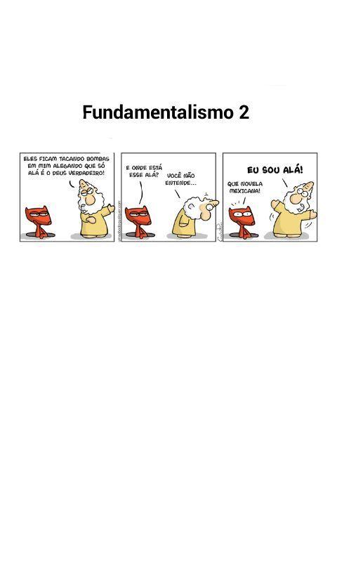 Fundamentalismo 2 - meme