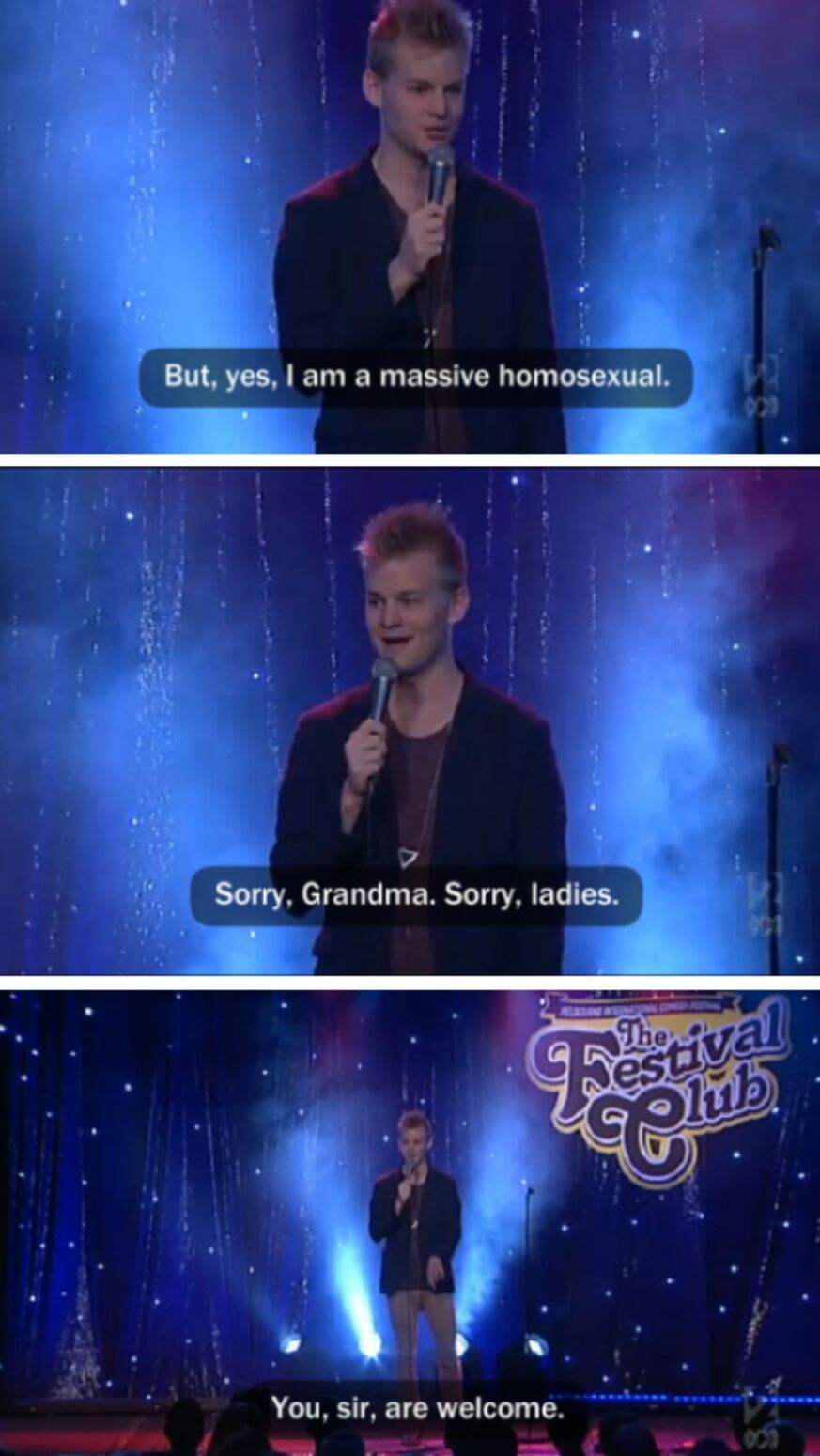 Thank all the Homosexuals - meme