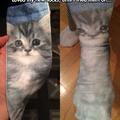Damn those socks are creepy.