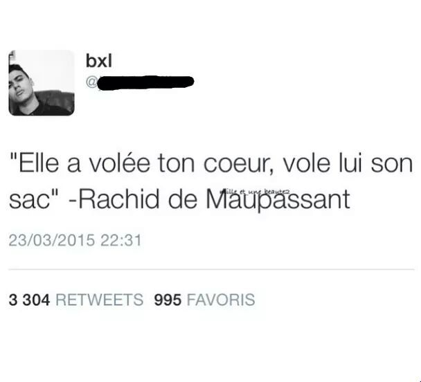 Rachid de Maupassant - meme