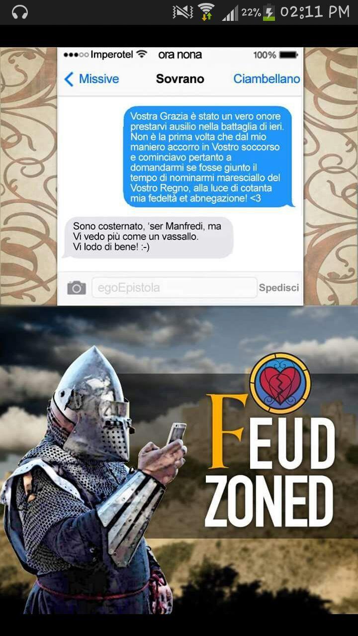 Feud zone - meme
