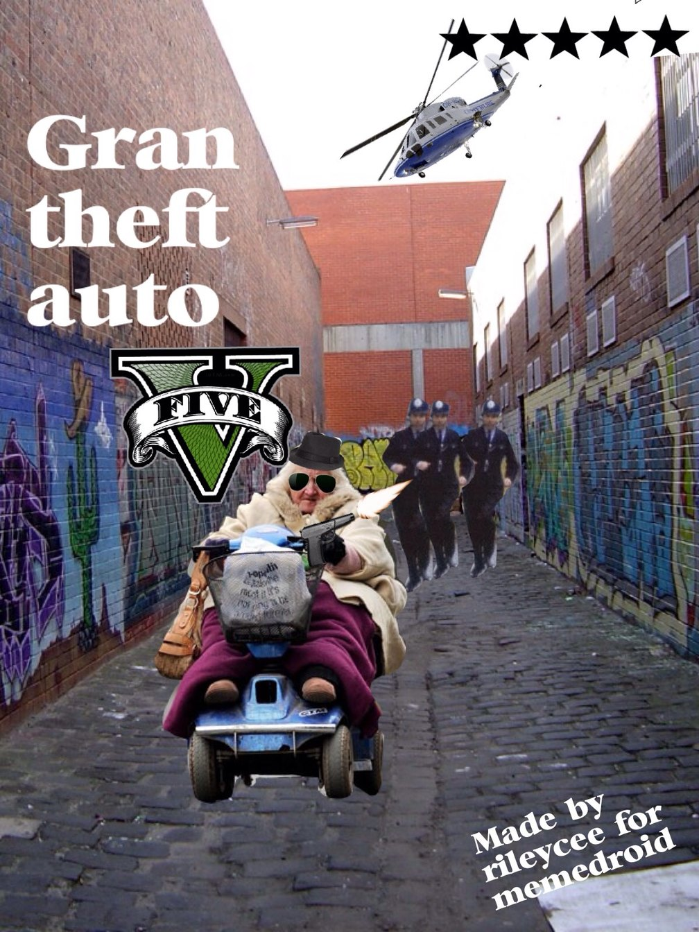 Gran theft auto..... Get it! - meme