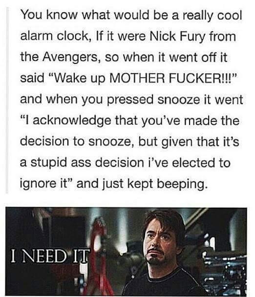 U dare to snooze motherfucker?? - meme