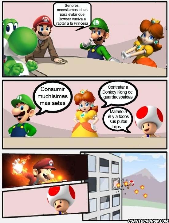 Mala idea Toad - meme