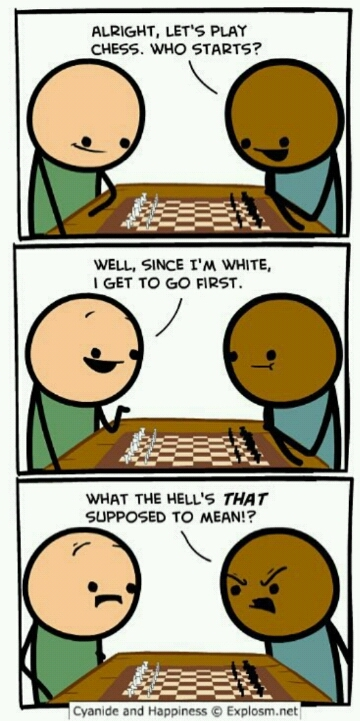 Typical chess problems - meme
