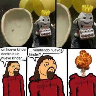 huevos kinder - meme