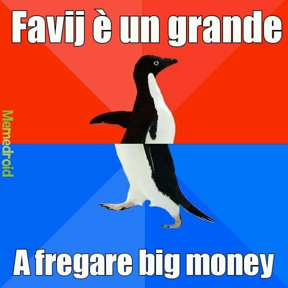 Pinguinino birichino - meme