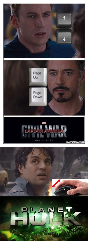 Ahora son 3 bandos - meme
