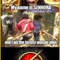 the senhora