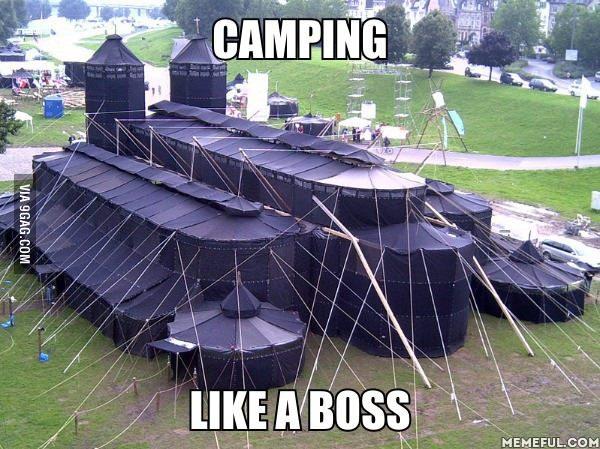 C'est ma tente ! - meme