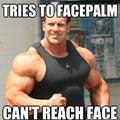Bad luck bodybuilder