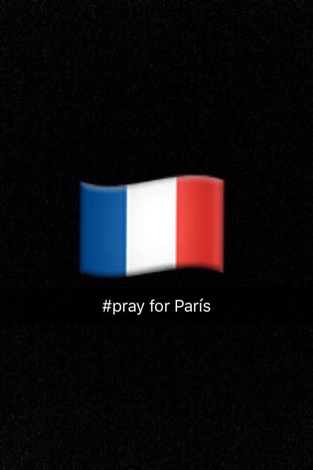#pray for París - meme