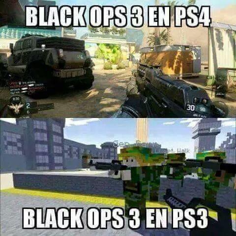 Personalmente me dio asco la versión de PS3 - meme