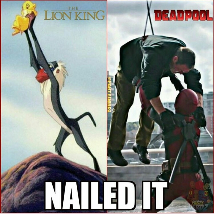 The Deadpool king - meme