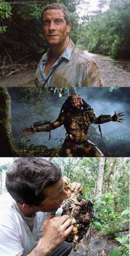 Delicioso predator - meme