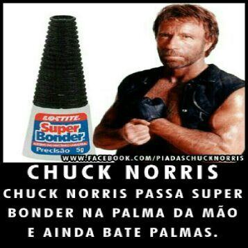 Chuck Norris é fodaaaa - meme