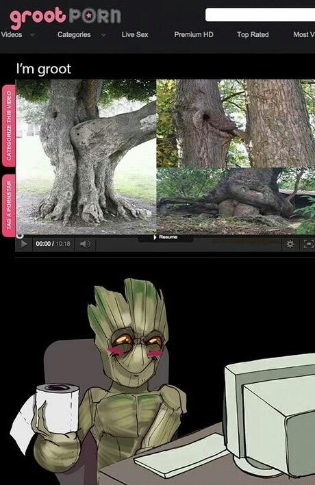 I am Groot - meme