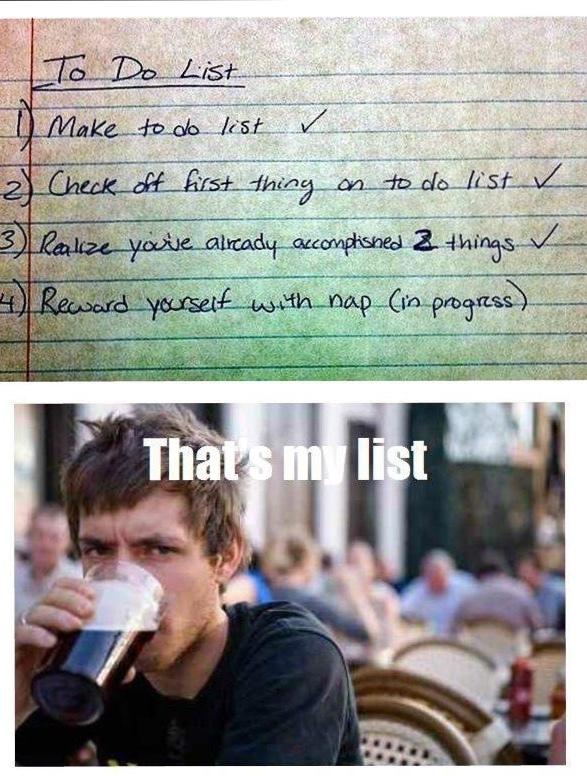 my list - meme