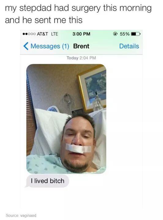 He lived - meme