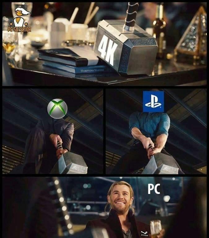 Pc FTW. - meme