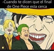 one piece es infinito - meme