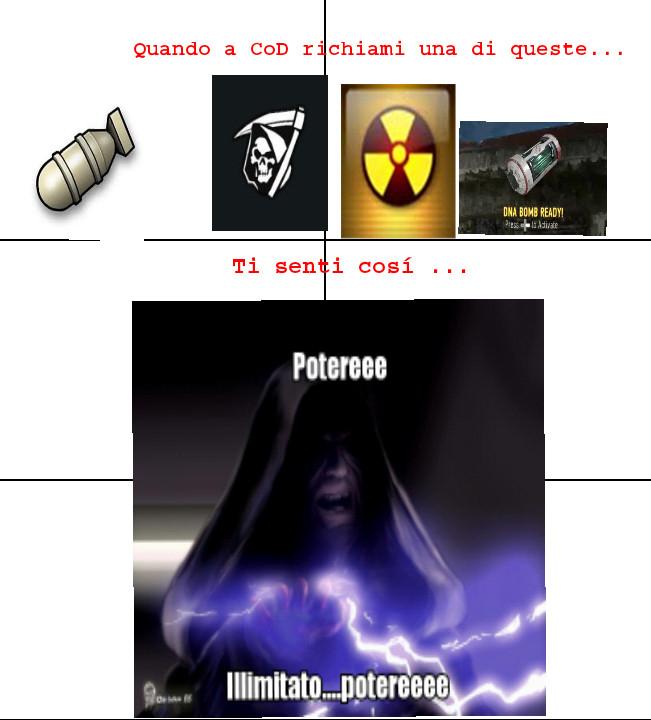 CoD + Palpatine - meme