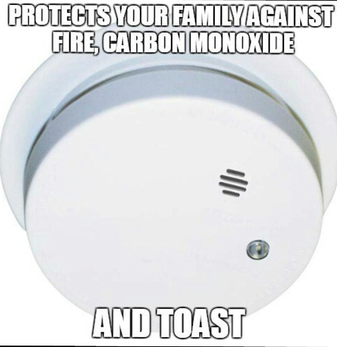 Protect yourself from toast today! - meme