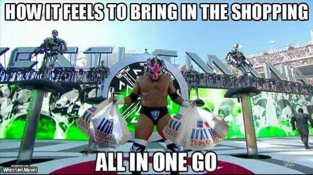 Triple H shopping - meme