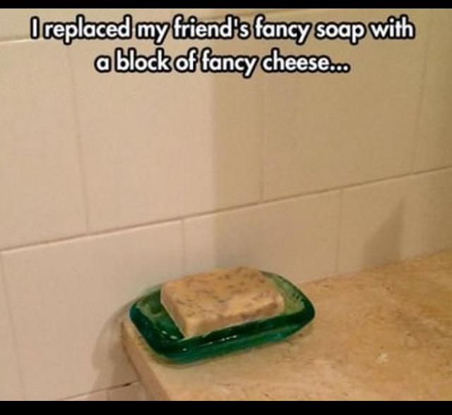 Fancy cheese - meme