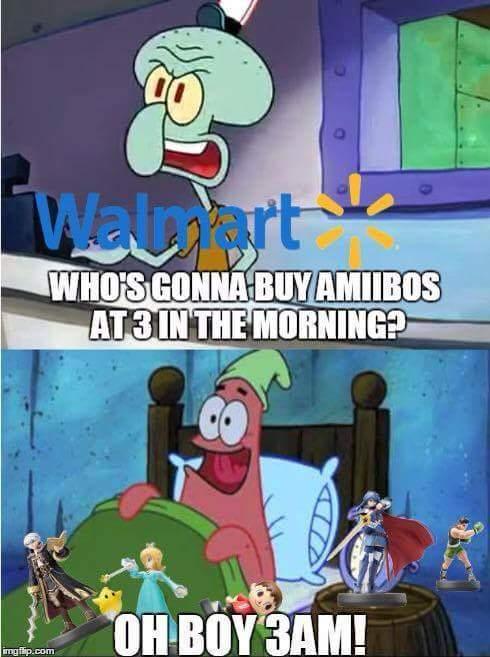 Amiibo - meme