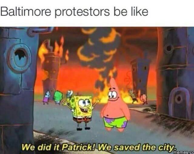 """Protesters"" - meme"