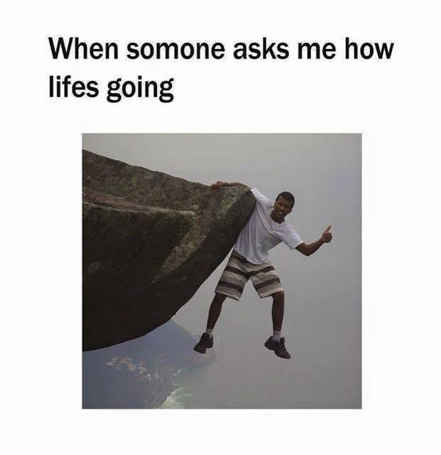 Cliffhanger - meme