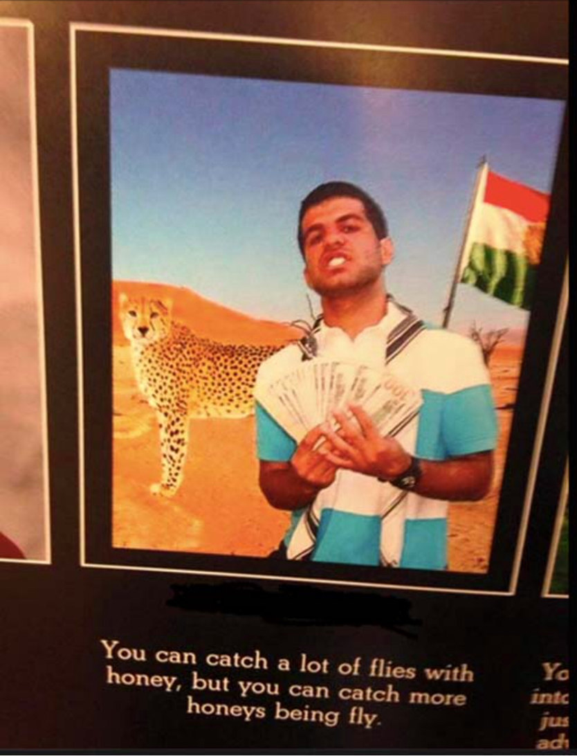 Senior quote - meme